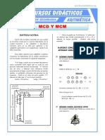 Máximo Comun Divisor y Mínimo Comun Multiplo Para Primero de Secundaria