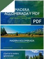 Madera Aglomerada y Mdf