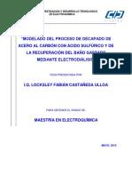 Modelado del proceso de decapado de acero al carbón con ácido sulfúrico y de la recuperación del baño gastado mediante electrodiálisis.pdf