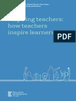 inspiring teacher