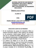Clase 16, Mineralogía Optica