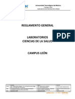 Reglamento General de Laboratorios 20-1