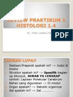 1. Review Praktikum Histologi 1 Blok 1.4 Remed