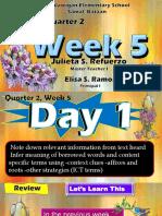 ENG WEEK 5