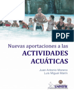 Nuevas Aportaciones a Las Actividades Acuaticas