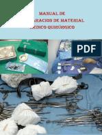 Manual de Preparacion de Material Medico Quirurgico