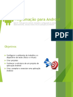 Programação Para Android Aula 01 Conceitos Iniciais