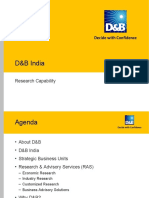 D&B Research & Advisory-Services
