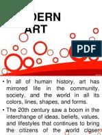 Arts - Modern Art