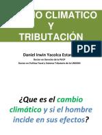 Cambio Climático y Tributación