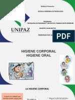 Higiene Corporal- Higiene Oral