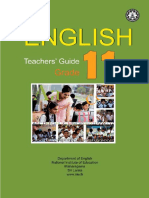 Grade 11 teacher guide English