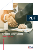 Expected Credit Losses Simplified a BDO India Publication 2017