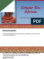 Nota de clase - DOCUMENTAL CRECER EN AFRICA