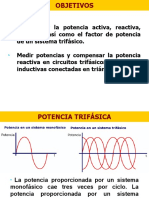 Potencia AC Trifásica.