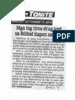 Abante Tonite, Sept. 17, 2019, Mga big time drug lord sa Bilibid itapon sa WPS.pdf