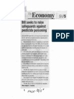 Business World, Sept. 17, 2019, Bill seeks to raise safeguards against pesticide poisoning.pdf
