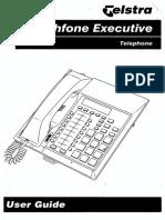 Telstra Touchfone Executive User Guide User Guide