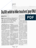 Manila Standard, Sept. 17, 2019, Du30's wish to hike teachers pay OKd.pdf