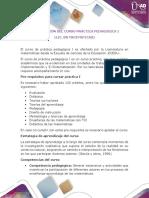 551125_18 Presentación Del Curso Práctica Pedagógica I (Lic. en Matemáticas)