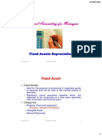 FAM-6 - Fixed Assets and Depreciation
