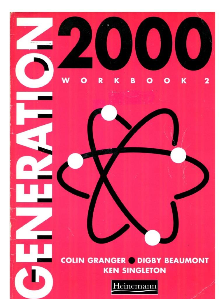 Workbooks relationship rescue workbook : Generation 2000- Workbook 2