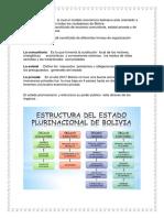 El Estado Se Organiza Lo Cual El Modelo Económico Boliviano Esta Orientado a Una Forma de Vivir Bien Todas Los Ciudadanos de Bolivia