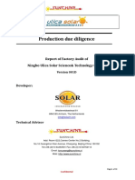 Ulica Factory Audit Report