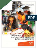Postgraduate Certificate in Education-PGCE