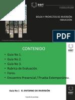 Presentacion General Bolsa y Proyectos de Inversiòn