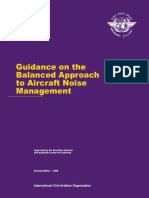 guidance on the balanced approach to aircraft noise management