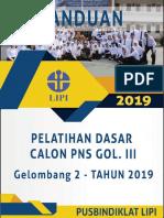 Panduan Latsar CPNS LIPI 2019 Gel. 2