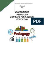 Proposal Pedagogy
