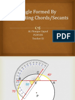 4 3 Angle Formed by Two Chords Answers 2019 With Exercises and Homework