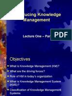 Lecture 1 PartOne