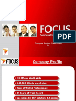 Focus ERP & Implementation Methodology Docuement