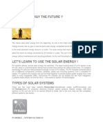 Solar Energy Compnents Brief