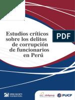 Tratamiento de La Prueba en El Delito de Colusión - Vargas Valdivia