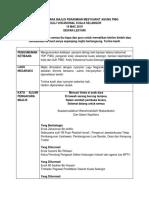 Teks Pengacara Majlis Perasmian Mesyuarat Agung Pibg