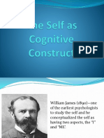 The Self as Cognitive Construct