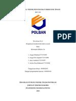 Laporan Praktikum No.2 Pengukuran Kabel Coaxial