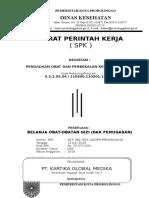 Kontrak perintah kerja