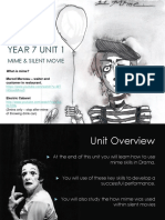 Mime and Silent Movie Revision