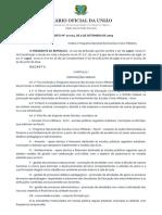 Decreto n10004 de 5 de Setembro de 2019 Dou Pecim