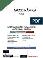 Aula - Farmacodinâmica Parte 1 e 2