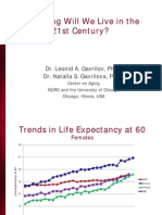 Gavrilov-Longevity in the 21st Century