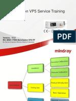01.Mindray - Benefusion VP5 Service Training V1.0 En