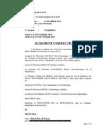 Le jugement du 16 septembre qui relaxe deux décrocheurs de portrait d'Emmanuel Macron à Lyon