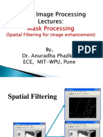 Spatial Filters for Image Enhancement