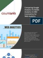 Comparing Google Analytics vs Adobe Analytics vs IBM